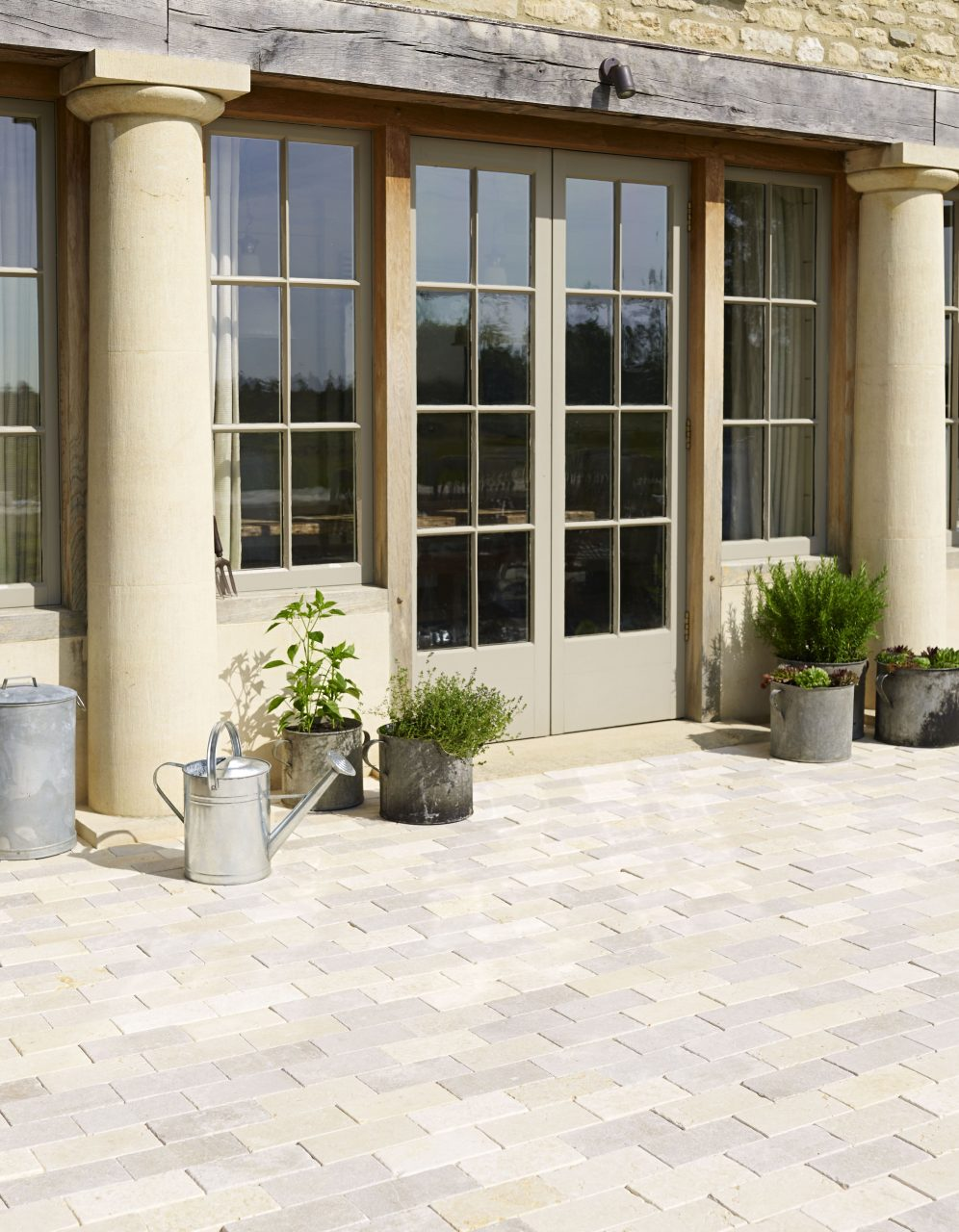 Dijon Tumbled Limestone In 2019 Home Stone Tile Flooring