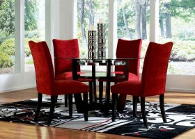 Modern Red Dining Room Chairs