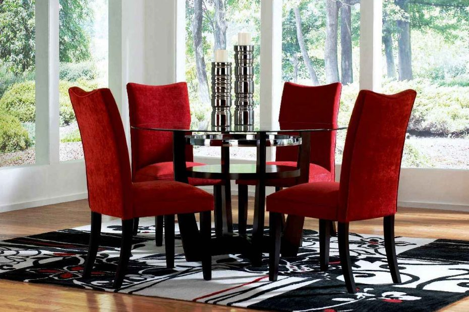 Dining Chair Modern Red Dining Chairs Red Dining Chairs Black Legs
