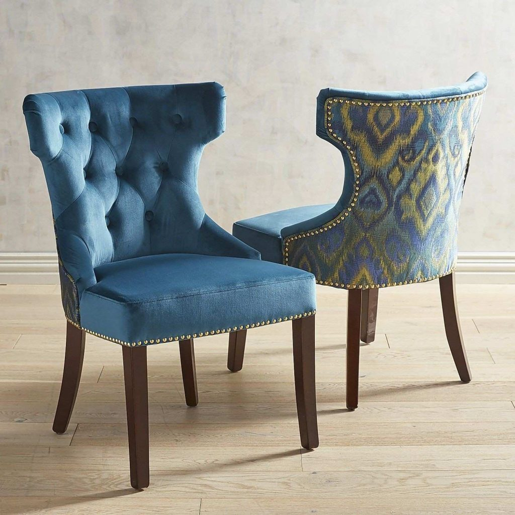 Navy Blue Dining Room Chairs Layjao