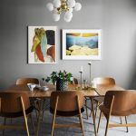 Mid Century Modern Dining Room Decor