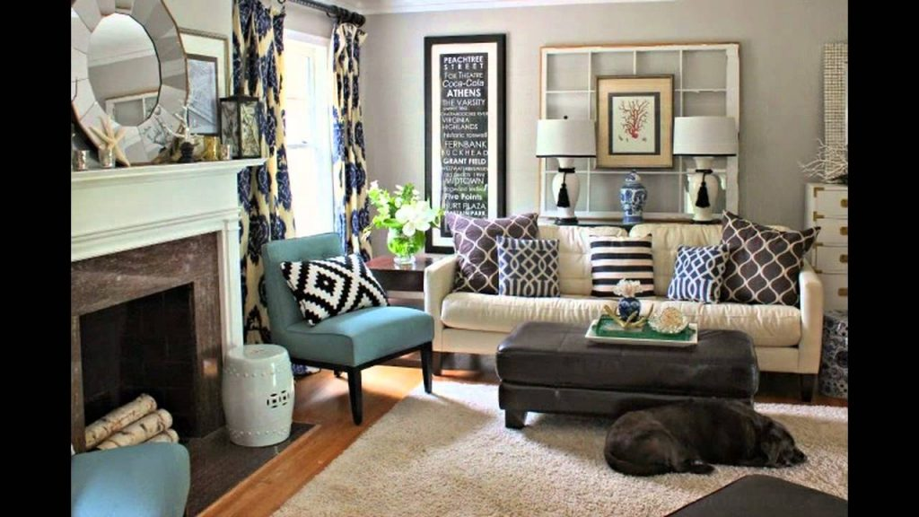 Diy Living Room Makeover Youtube