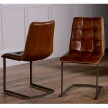 Dolomite Leather Dining Chair H O M E Pinterest Comfortable