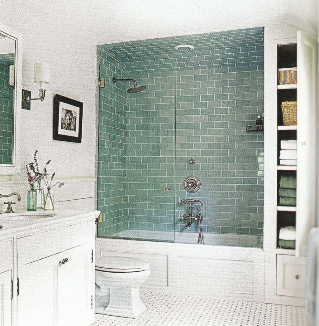 Double White Toilet Tub And Shower Tile Ideas Old Grey Wall Paint