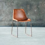 Eames Chair Vintage Dining Chair Leather Dining Chair Vintage
