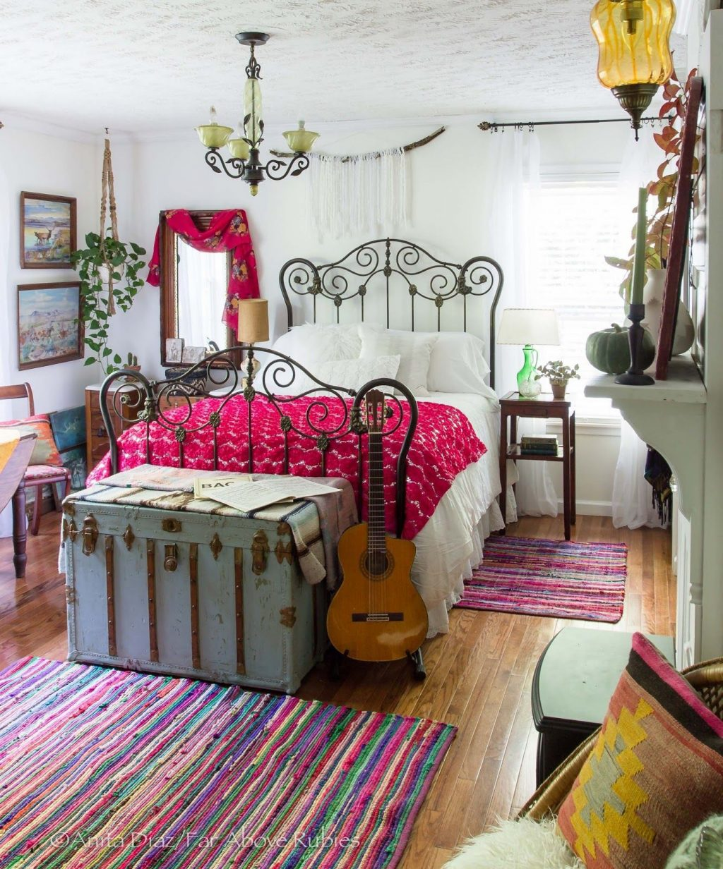 Eclectically Fall Home Tour Bloggers Best Diy Ideas Boho