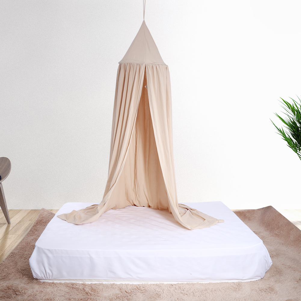 Ejoyous Round Dome Hanging Bed Canopy Mosquito Net Curtain For Ba