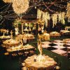 Outdoor Wedding Lights Decorations