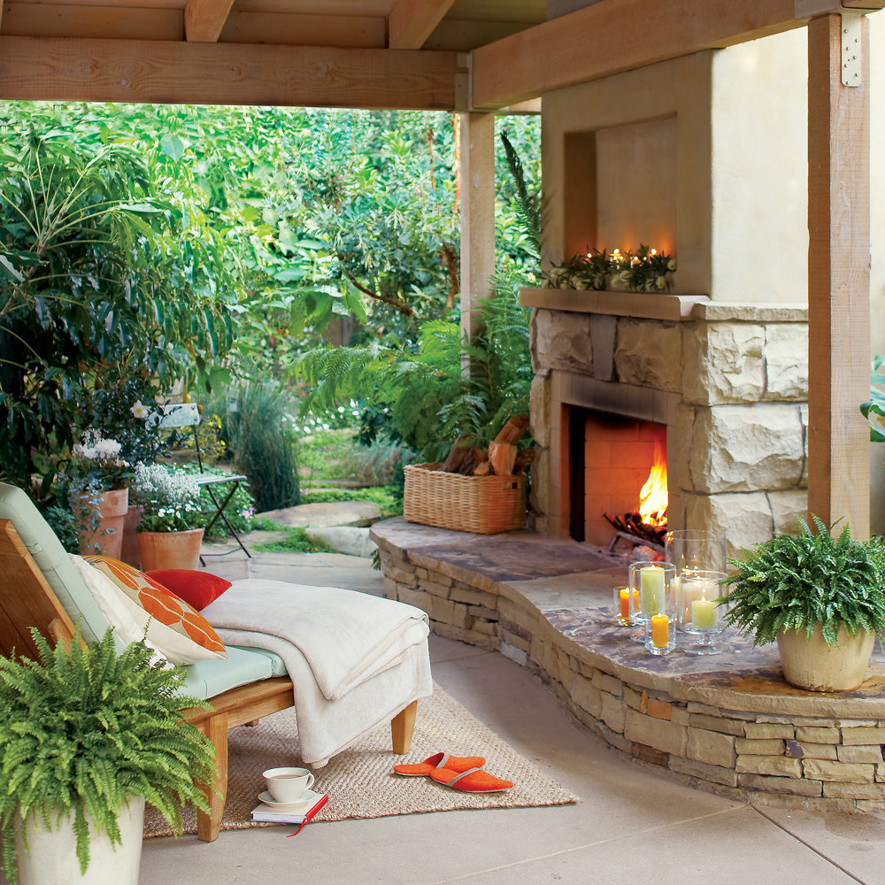 Enclosed Patio Designs Pictures Partially Covered Back Gardens Sun
