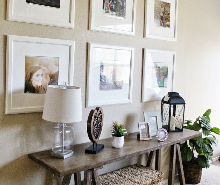 Entry Way Living Room Decor Ikea Picture Frame Gallery Wall