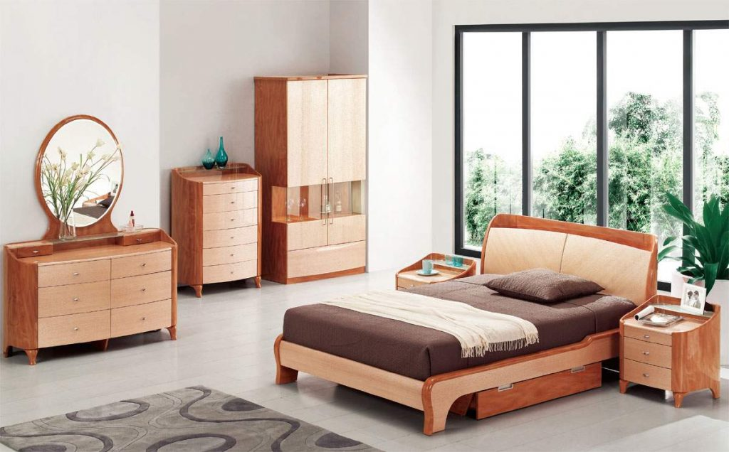 Exotic Wood Modern High End Furniture With Extra Storage Chesapeake
