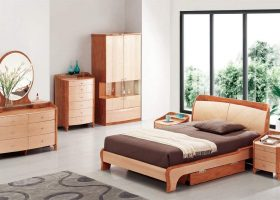 High-End Wood Bedroom Furniture