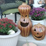 Fall Decor Fall Plant Decorations Outdoor Decorating Ideas For