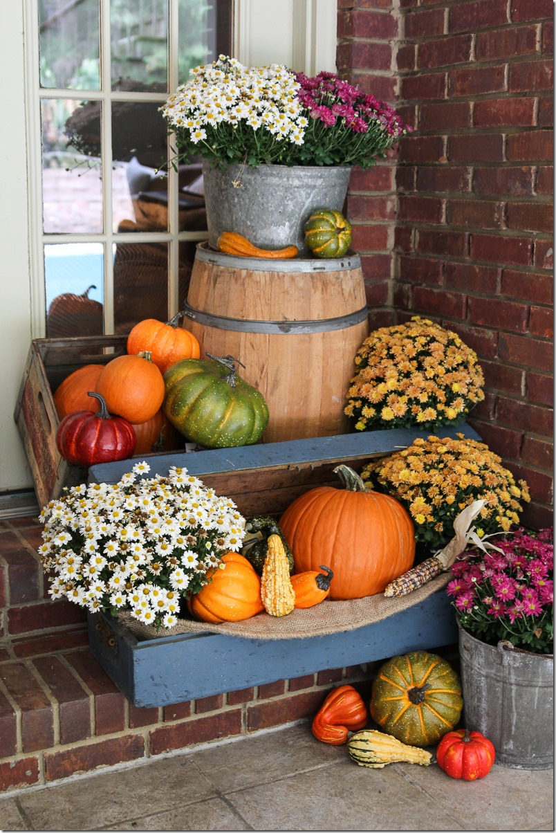 Fall Decor Outdoor Fall Porch Decorating Ideas Fall Decoration