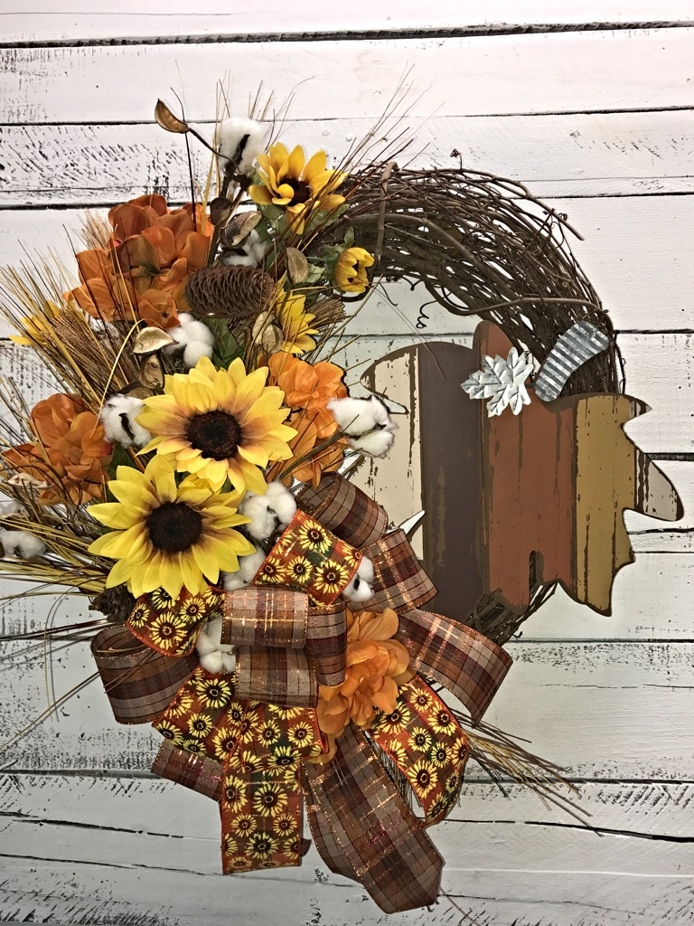 Fall Wreath Fall Door Wreath Fall Wreath For Front Door Fall