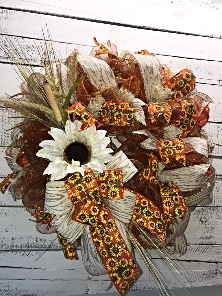 Fall Wreath Fall Wreath For Front Door Large Fall Wreath Fall