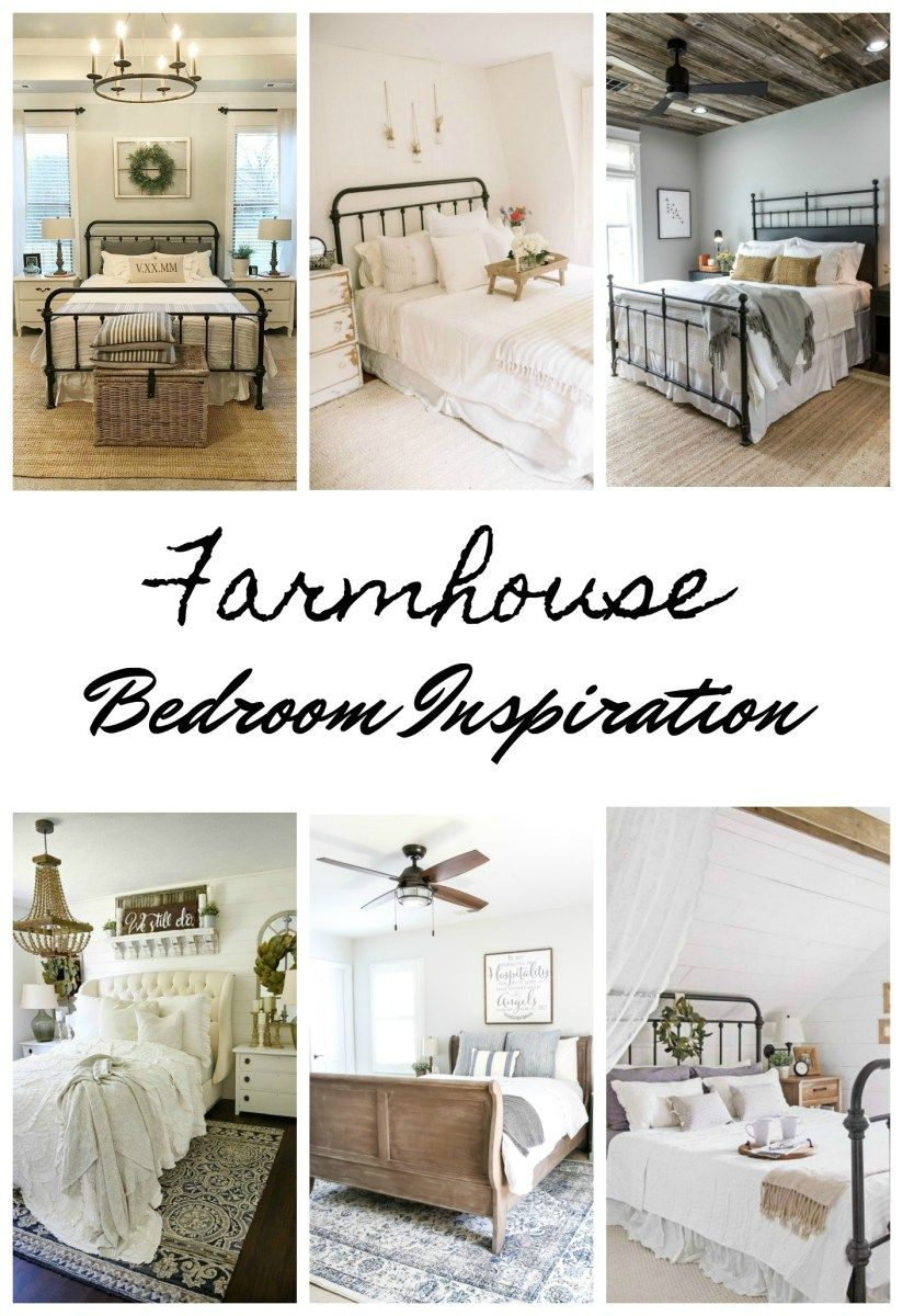 Farmhouse Bedroom Inspiration Remodel Bedroom Farmhouse