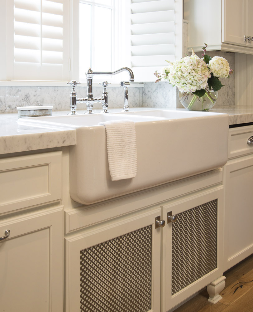 Farmhouse Sink White Kitchen Karr Bick Kitchen Bath
