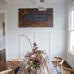 Rustic Dining Room Wainscoting Ideas