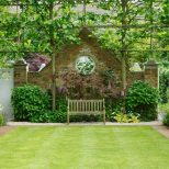 Formal Garden With Classic English Lawn Outdoor Spaces Garden