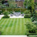 Formal Square Lawn Randle Siddeley