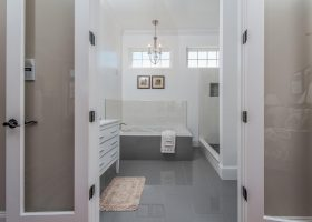 Master Bathroom Double Doors