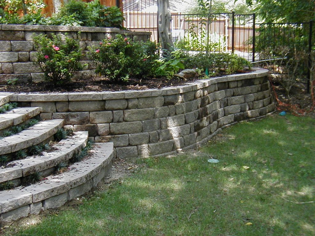 Garden Retaining Wall Construction Company North Va Dc