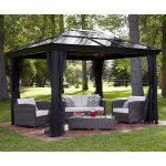 Outdoor Metal Gazebo Roof