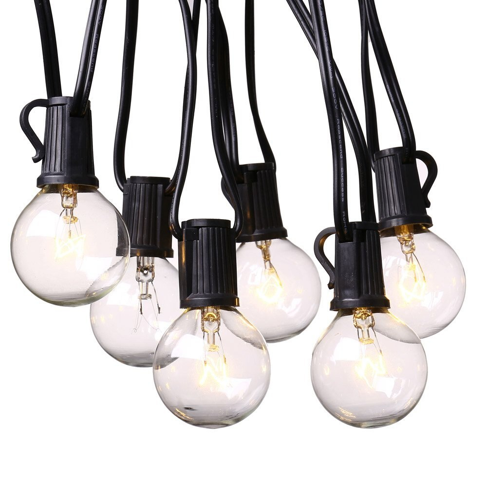 Get This 25ft Globe String Lights With 25 G40 Bulbs Vintage Patio