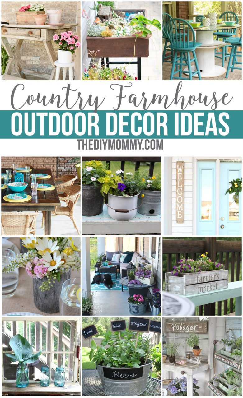 Gorgeous Country Farmhouse Outdoor Decor Diy Ideas For Your Patio