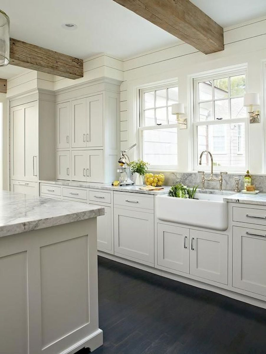 Gorgeous Farmhouse Gray Kitchen Cabinets Ideas 41 Kitchen Tips