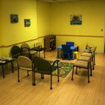 Grace Childrens Clinic Affordable And Colorful Waiting Room