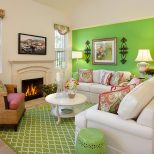 Green Living Room Ideas