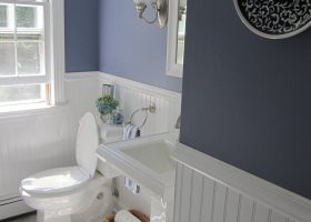 Bathroom Remodeling with Wainscoting