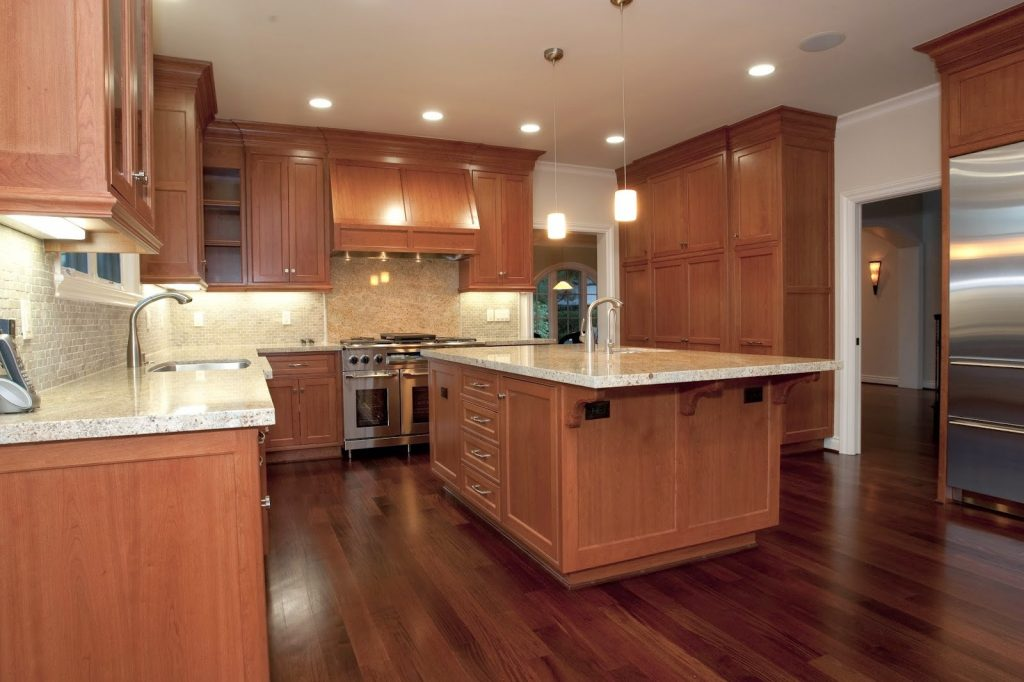 Hardwood Kitchen Cabinets One Project At A Time Diy Blog