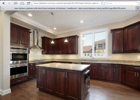 Images of Hardwood Floors with Cherry Wood Kitchen Ca…