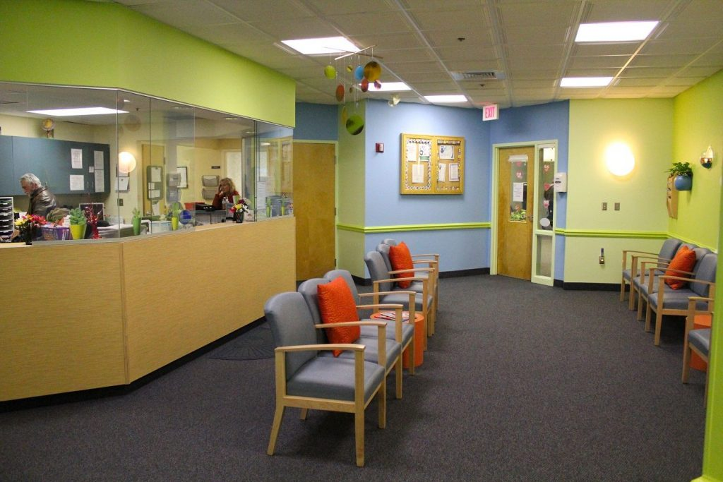 Holliston Pediatric Group Chic Redesign Kid Friendly Waiting