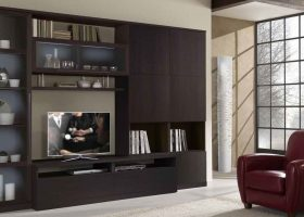 Modern Living Room Cabinet Design Ideas