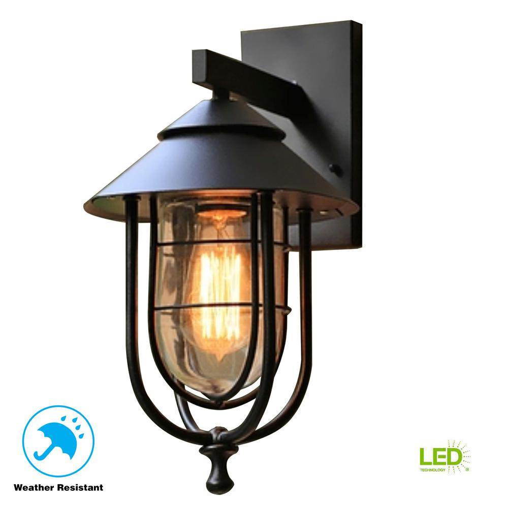 Home Decorators Collection Wisteria Collection 1 Light Sand Black
