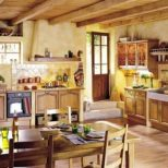 House Interior Design French Country Style Kitchen Tuscan Style