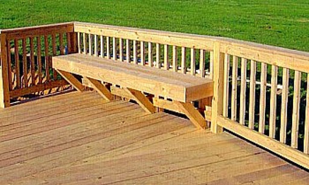 How To Build A Patio Deck Bench Patio Ideas
