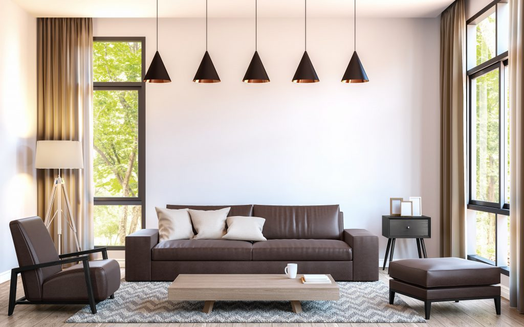 How To Choose A Rug For A Living Room With A Brown Leather Couch