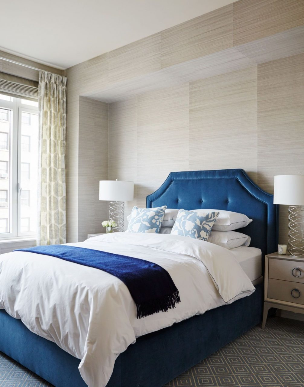 How To Create An Unbelievably Sexy Bedroom Bedding Blue