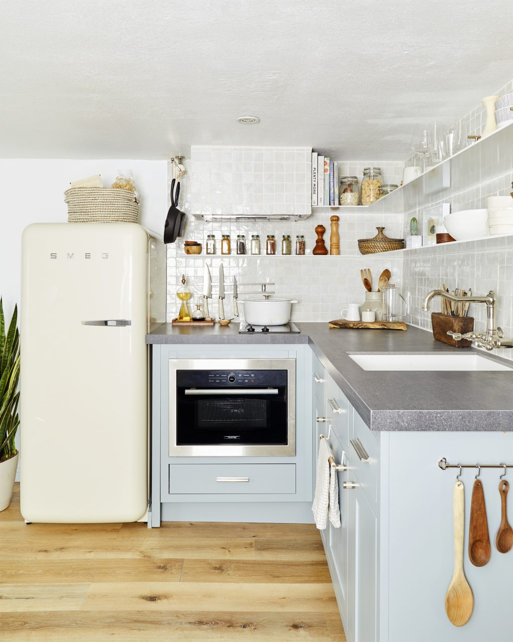 How To Design A 49 Square Foot Tiny Kitchen With Tons Of Smart Storage