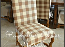 Recover Dining Room Chairs