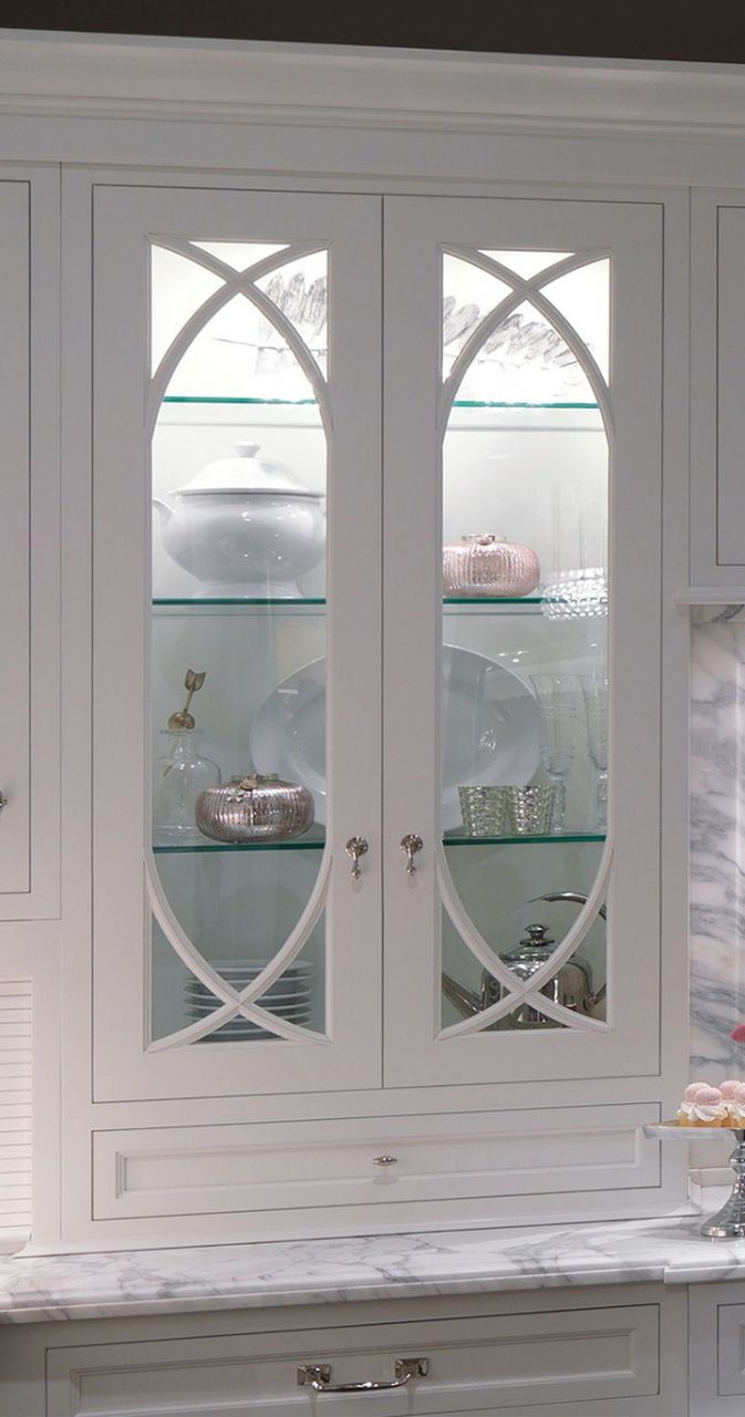 Upper Kitchen Cabinets With Glass Doors Layjao
