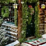 Ideas How To Make Comfortable Rustic Outdoor Christmas Dcoration 05