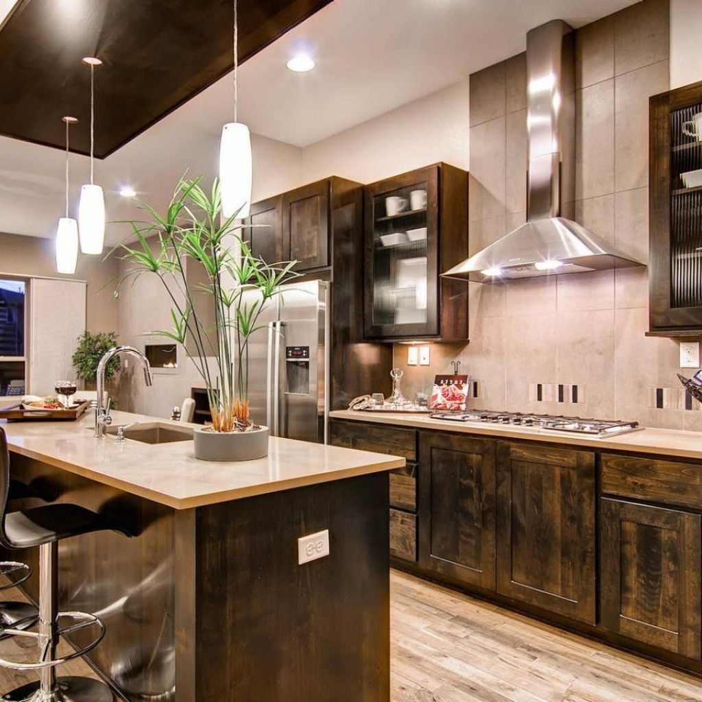 Image Result For Modern Rustic Kitchen Modern Rustic Rustic