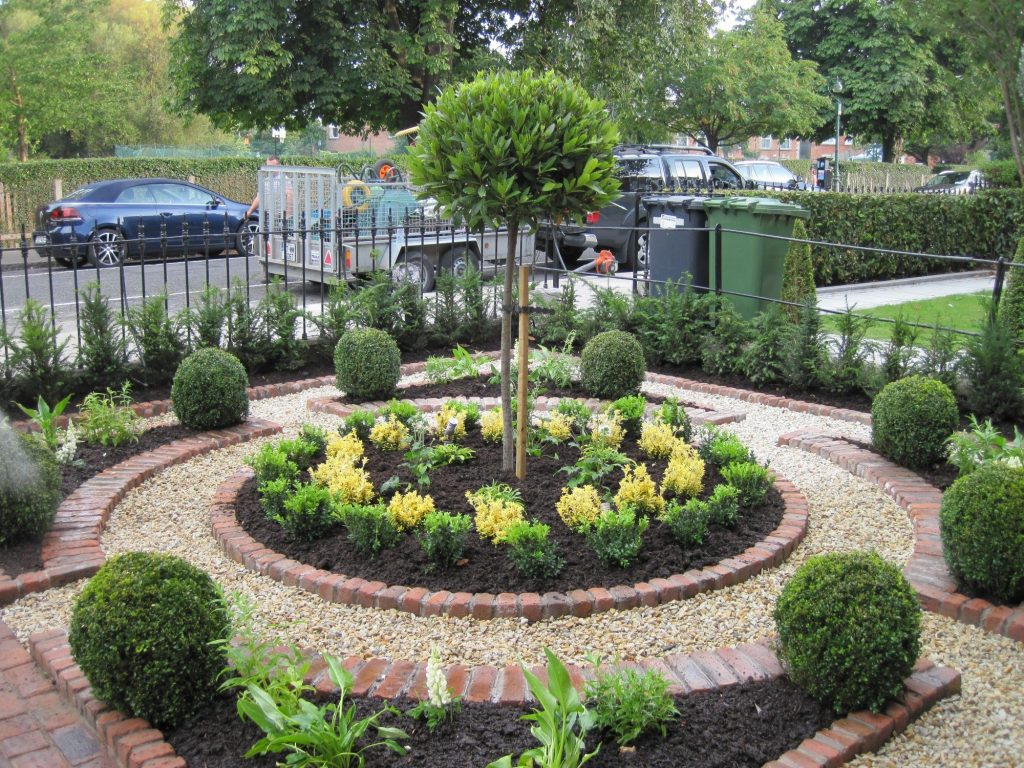 Image Result For Small Formal Front Gardens Landscape Designs