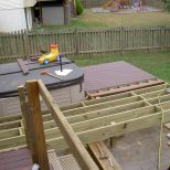 In Deck Hot Tub Backyard Design Ideas